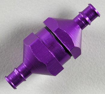 DUB-2308 Filtro de Linha Roxo In-Line Fuel Filter Purple
