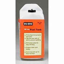 DUBRO - TANQUE DE COMBUSTIVEL 20OZ DUBR 420 (590CC)