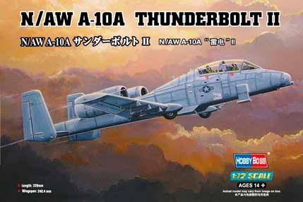 A-10A Thunderbolt II N/AW - 1/72 CÓDIGO: HBS ZF-80267
