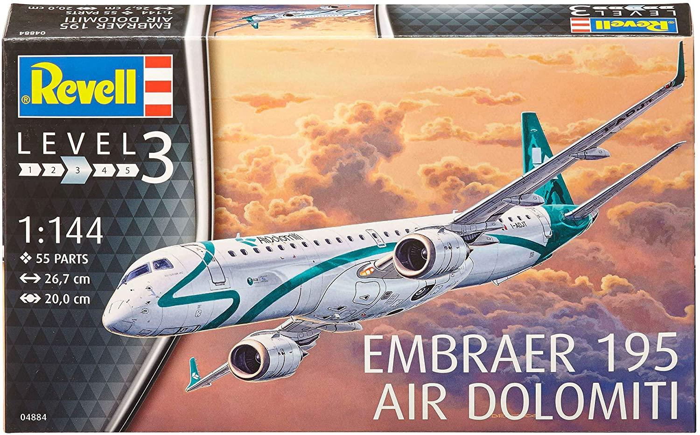 Embraer 195 Air Dolomiti - 1/144 - REVELL