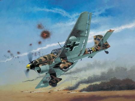 Junkers Ju-87 B2/R2 - 1/72 CÓDIGO: REV 04620