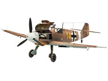 Messerschmitt Bf109 F-2/4 - 1/48 CÓDIGO: REV 04656