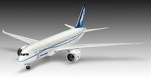 """PLASTIMODELO Boeing 787-8 """"Dreamliner"""" - 1/144 - REV 04261"""