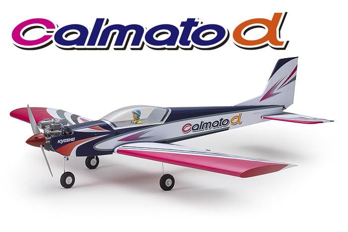 Aeromodelo Kyosho 1:6 Rc Ep/Gp Calmato Alpha 40 Sports Tough