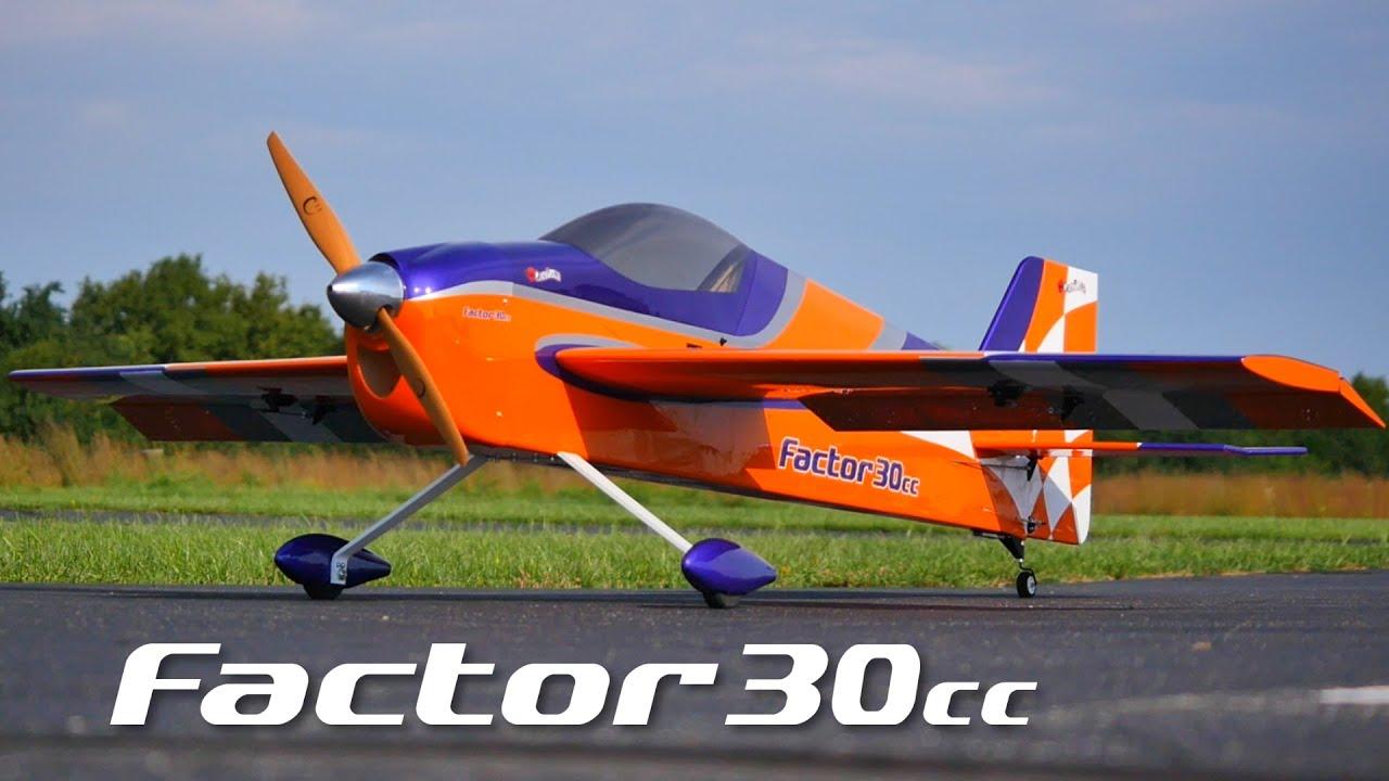 GREAT PLANES - Factor 3D 30-35cc gasolia e elétrico - ARF