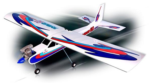 PHOENIX - Trainer 60 - ARF - Elétrico ou Combustão - Com fLAP