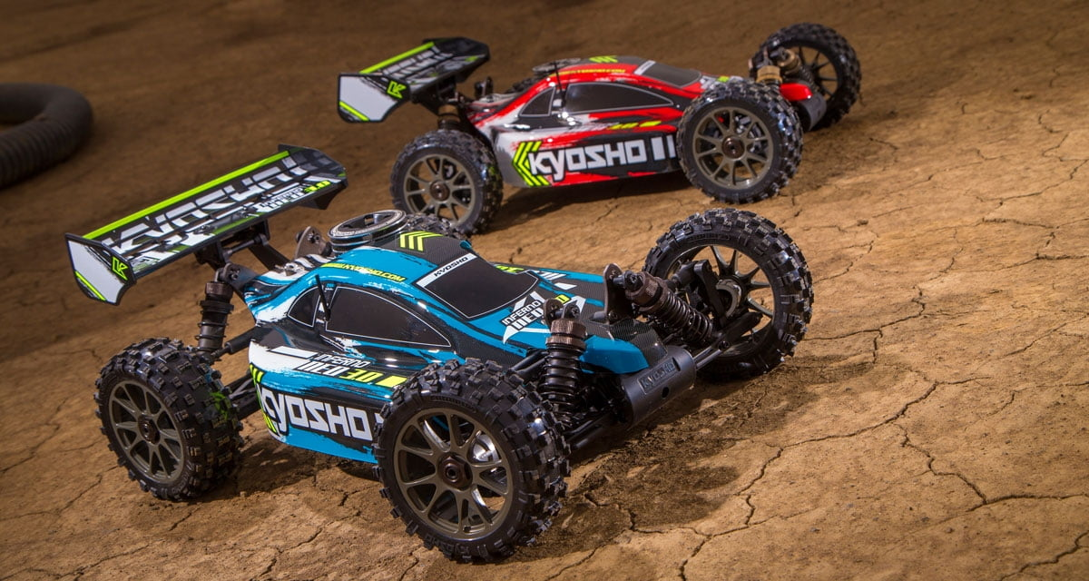 Automodelo Kyosho 1:8 Rc Gp Buggy 4x4 Inferno Neo 3.0 Motor