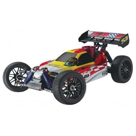 AUTOMODELO Thunder Tiger 1/8 Nitro EB-4 S2 Pro Red 2.4GHz