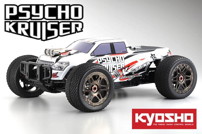 Automodelo Kyosho 1:8 Rc Ep Rs Psycho Kruiser 4Wd Ve Branco