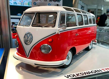 Kombi RC Volkswagen VW Type 2 (T1) chassis M06 - 1/10 - Elétrica