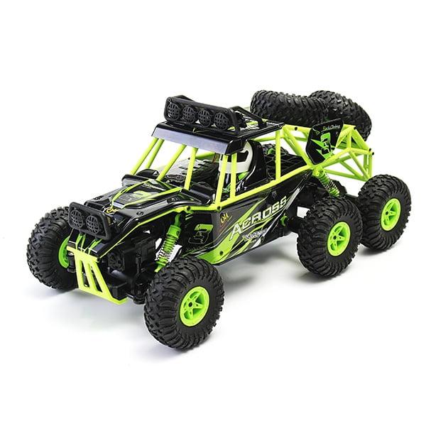 Wltoys 18628 - Rock Crawler 1/18 2.4G 6WD Escovado Rc Car