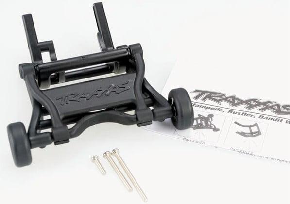 TRAX 3678 - Wheelie bar, assembled (black)