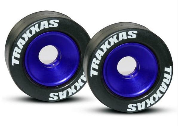 TRAX 5186A - Wheels, aluminum (blue-anodized) (2)
