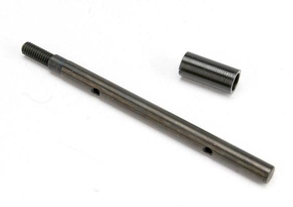 TRAX 5566 - Input shaft (slipper shaft)/ slipper shaft spacer