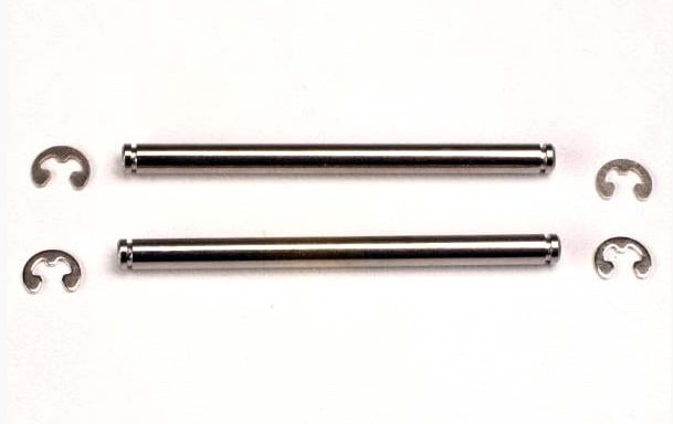 TRAX2640 - Suspension pins, 44mm (2) w/ E-clips