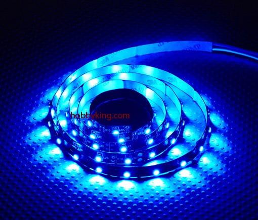 TURNIGY - FITA LED 1M 60LEDS Azul