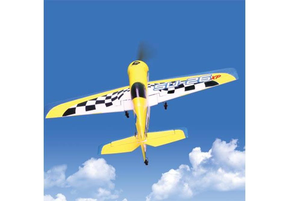 AEROMODELO MINI SUKHOI SU - 26 XP BNF COM MOTOR E BATERIA
