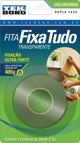 FITA 2575 DUPLA FACE 12MMX2M- TEK BOND