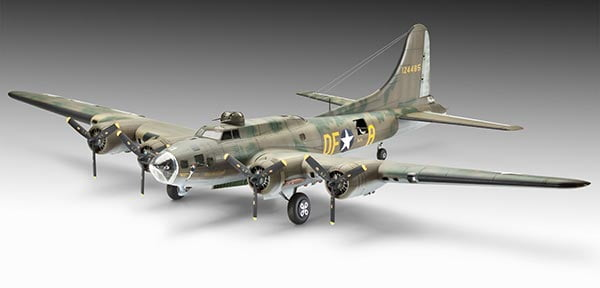 B-17F Memphis Belle - 1/72 CÓDIGO: REV 04279