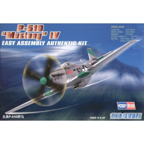 P-51D Mustang - 1/72