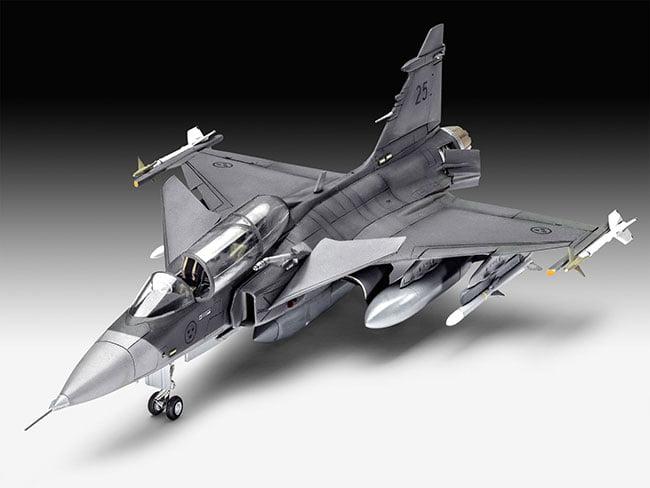 Saab JAS-39D Gripen TwinSeater - 1/72 -  CÓDIGO: REV 03956