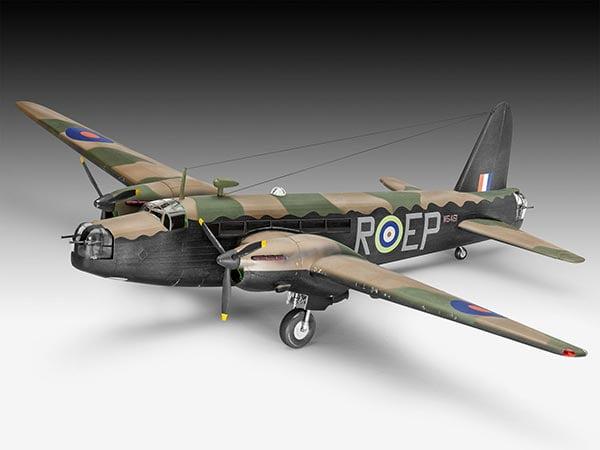 Vickers Wellington Mk.II bombardeiro - 1/72 CÓDIGO: REV 04903