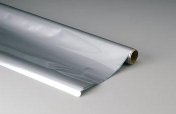 TOP FLITE - Plástico termoadesivo Monokote (66 x 182 cm) - Alumínio - MONOKOTE ALUMINUM - TOPQ 0205