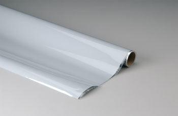 TOP FLITE - Plástico termoadesivo Monokote (66 x 182 cm) - Cinza - MONOKOTE GRAY 6 - TOPQ 0211