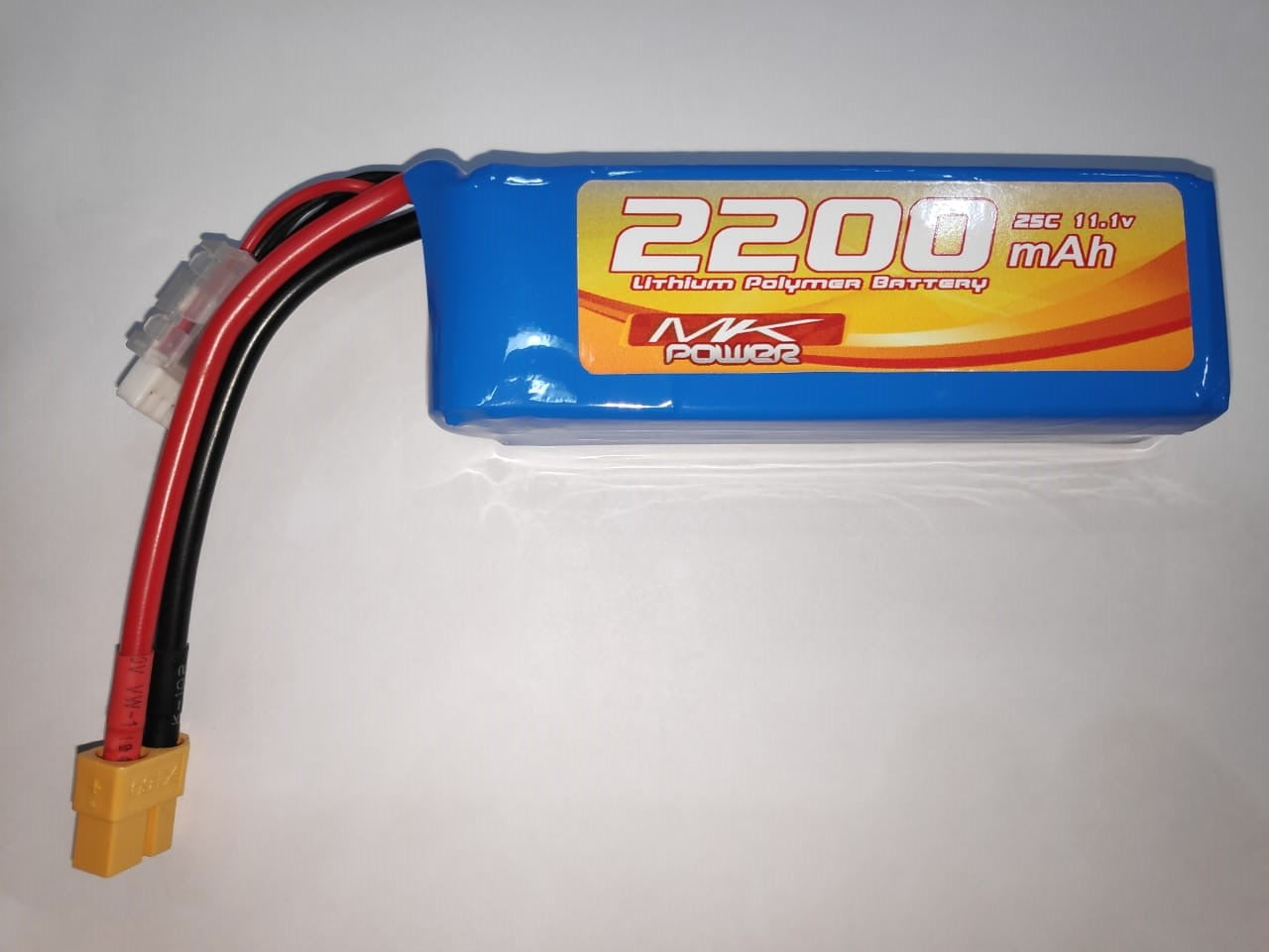 MK POWER - BATERIA LIPO 2200MAH 25C 11.1V 3S