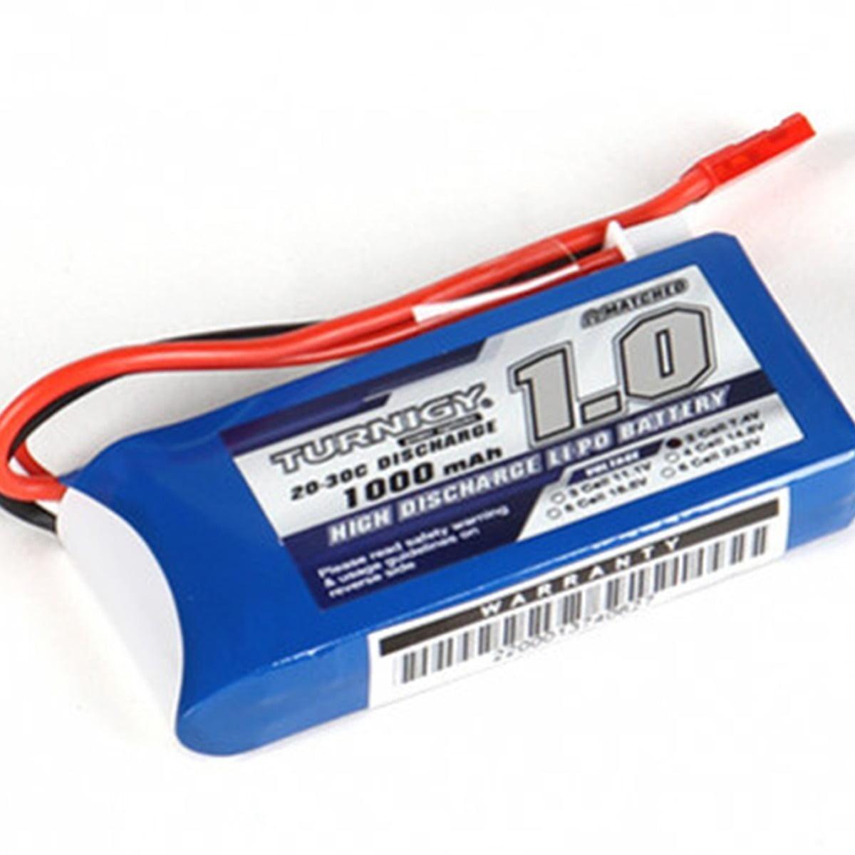 TURNIGY - Bateria Lipo 1000mAh 2S1P 20C 2 Cell 7.4V