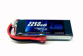 ZEE - Bateria LIPO DEANS 2250MAH 35C 3S 11.1V