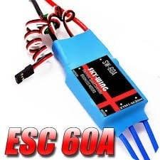 SKYWING - ESC 60A Brushless BEC  VER PRODUTO