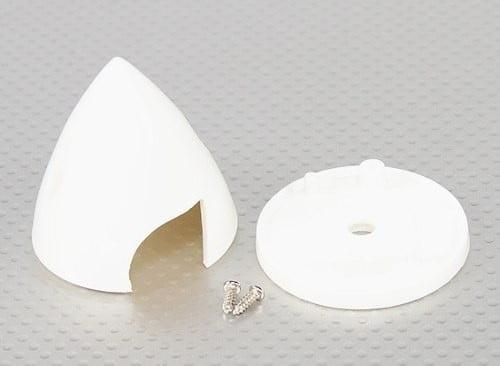 """LYNX - LHP0971 Spinner de 2 1/4"""" (56,4mm) Branco"""