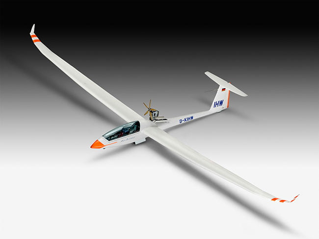 PLASTIMODELO Gliderplane DUO DISCUS & engine - 1/32 03961