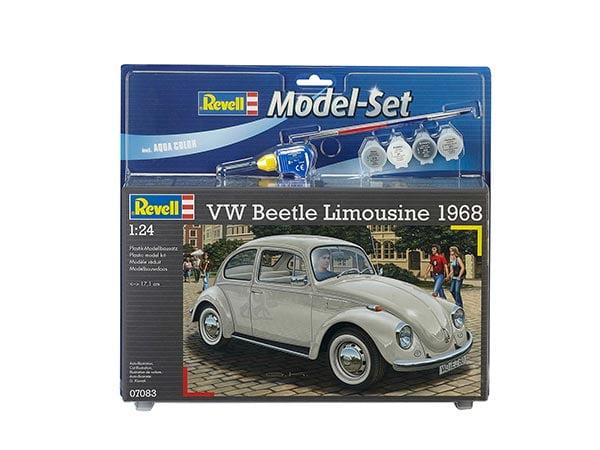 Revell - Volkswagen Fusca Beetle Limousine 1968 - 1/24 - 67083