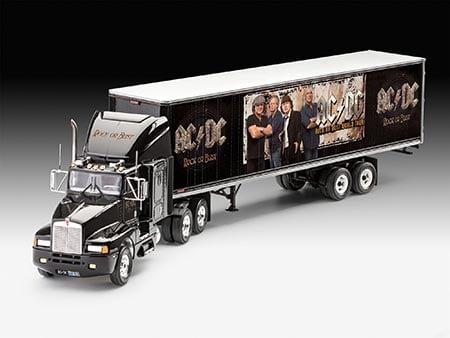 Truck & Trailer AC/DC Limited Edition - 1/32 - NOVIDADE! - REV 07453