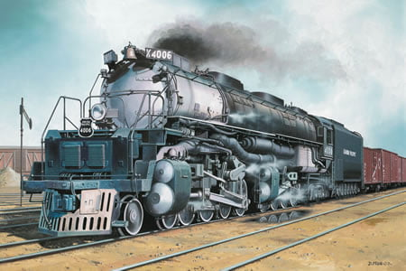 Revell - Locomotiva Big Boy - 1/87 - 02165