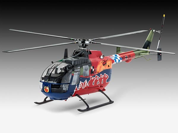 BO 105 versão de 35º Aninersário Roth Fly-Out Version - 1/32 - REV 04906