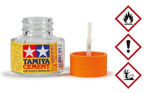 PLASTIC CEMENT 20ML - TAMIYA 87012