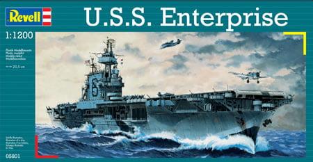 REVELL - U.S.S. Enterprise - 1/1200 - 05801
