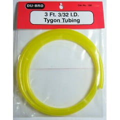 DUBRO - MANGUEIRA TYGON GASOLINA 3Ft 3/32 ID Tygon (Gás) dubr 799