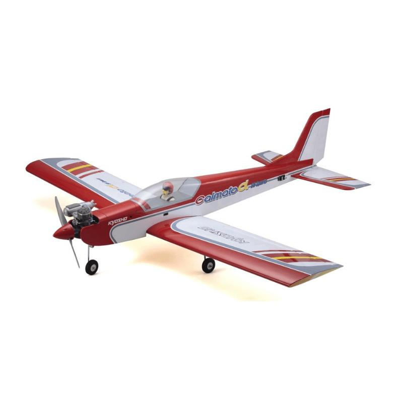 Aeromodelo Kyosho 1:5 Rc Ep/Gp Calmato Alpha 60 Sports Vermelho