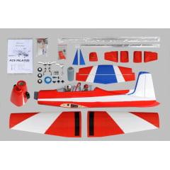 Aeromodelo PC9 Pilatus 75-91/15cc - ARF - 1/6 - Elétrico e Combustão
