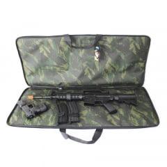 Bolsa para Aeg, pistola e portas magazines airsoft - Camuflada