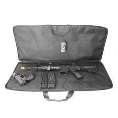 Bolsa para Aeg, pistola e portas magazines airsoft - Preto