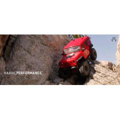 AUTOMODELO CRAWLER AXIAL WANGLER 4WD 2017 AX90060 RED