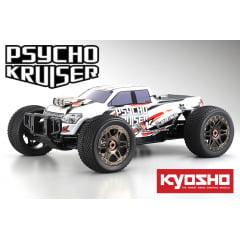 Automodelo Kyosho 1:8 Rc Ep Rs Psycho Kruiser 4Wd Ve Branco Rádio Kt331P