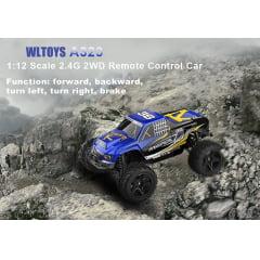 WLTOYS A323 2.4G Fanatical Escala 1:12 2WD off-road
