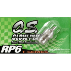 O.S ENGINES - GLOW TURBO MÉDIA RP6