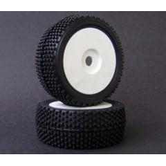 Roda C/ Pneu Sintec Xtreme Off-Road Branco 44mm S058